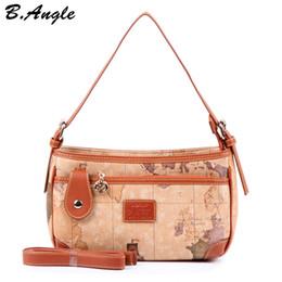 Saco de mapas mundiais on-line-Nova moda de alta qualidade mundo mapa mulheres saco mulheres messenger bags preço em dólar HC-Z-522