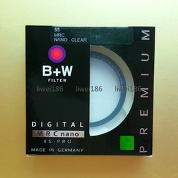 Wholesale 55 Mm - B+W 55mm XS-PRO MRC Nano BW UV Haze Protective Filter 55 mm 010M Filtro Multi-Resistant Coating For camera Lens As Hoya Kenko