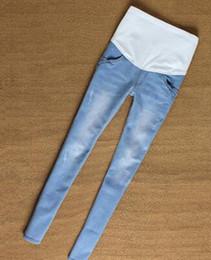 Wholesale Corduroy Jeans - Elastic Waist Maternity Jeans Pants For Pregnancy Clothes For Pregnant Women Legging Maternity pregnant Spring   Autumn
