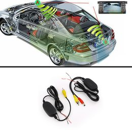 Wholesale Wireless Back Camera For Car - 2.4G WIRELESS Module adapter 2.4G wireless receiver for Car Monitor back up Reverse Rear View Camera 2.4G wireless transmitter