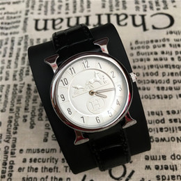 Wholesale Lover Watches Sale - Hot Sale Man Watch women Wristwatch Genuine Leather Lover watch Gentleman Quartz Japan Movement Foreign trade sales Free shipping Classic