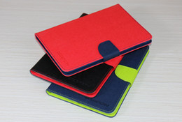Wholesale Ipad Mercury - Mercury Leather Cover for ipad6 Flip Wallet Pattern Protective Stand Case with Retail Package ipad1 2 3 ipad2 3 4 ipad mini4