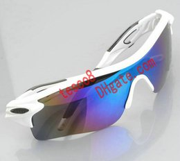 Wholesale Sunglasses Radarlock - Super Cool Half Frame Fashion Sunglasses Men Women Radarlock Sun Glasses Resin Lenses 9 Colors Summer Wind Goggle Eyeweay Free shipping