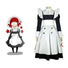 Wholesale Cosplay Costume Black Butler - Wholesale-2016 Black Butler Kuroshitsuji Mey Rin Cosplay Costume Custom Made
