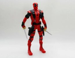 Wholesale Despicable Toys Pvc - 2016 18CM X-man Deadpool Joint Movable Wade Winston Wilson PVC Action Figure Collection Model Kids Toy Doll