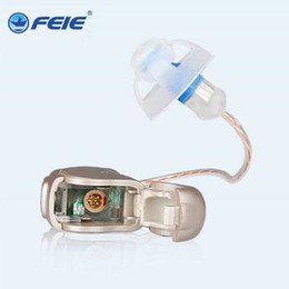 Wholesale Programmable Hearing Aids - FEIE european market adjust frequency tinnitus masker hearing aid open ear programmable connect computer my-20 free shipping