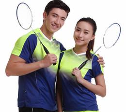 Wholesale Tenis Wears - Sportswear sweat Quick Dry breathable men badminton t-shirt,Women Men table tennis shirts clothes game running training Wear tenis T-Shirts