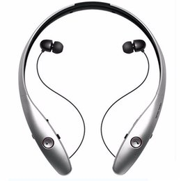 Wholesale Earphones For I Phone - New HB-900 Wireless Sport Neckband Headset In-ear Headphone Bluetooth Stereo Earphones Headsets For I phone x 8 Samsung S8