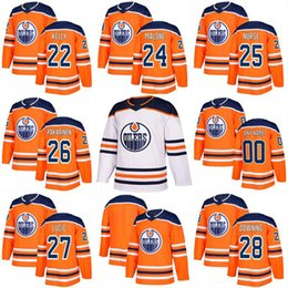 Wholesale Purple Nurse - 2017-2018 Season 27 Milan Lucic 22 Chris Kelly 24 Brad Malone 25 Darnell Nurse 26 Iiro Pakarinen Edmonton Oilers Custom Hockey Jerseys