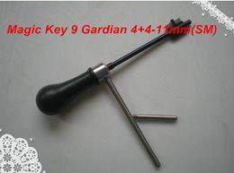 Décodeur livraison gratuite en Ligne-Livraison gratuite Nouvelle Arrivée de haute qualité MAGIC KEY 09 pour Guardian 4 + 4, Elbor-Lazurit - 11 mm (SM) décodeur et pick outil outils de serrurier