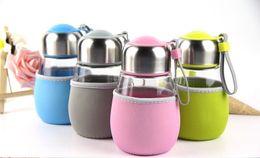 Wholesale Coffee Mugs Advertising - 400ml Glass Cups Heat Resisting Clear Handmade Crystal Mini Penguin cup Tea Coffee Milk Drink Mug Advertising gift