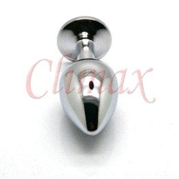 Wholesale Toy Crystal Glass Sex - Random Colors, Mini Metal Anal Toys, Butt Plug, Booty Beads, Stainless Steel+Crystal Jewelry, Adult Sex Toys, Sex Products