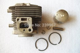 Wholesale Cheap Engine - Cylinder assy 32mm for Kawasaki TH23 engine free postage hedge trimmer cutter cheap Cylinder head + piston kit parts