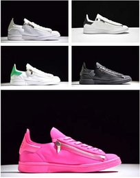 Wholesale Product Canvas - 2016 new mens Y3 Stan Smith Zip Trainers,personality Men and women sneakers,further luxury products from the designer range,Leather Shoes