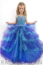 Wholesale Ballgown Kids - 2016 kids dress and flower girls dresses Perfect Angel sweetheart cut ballgown with sparkly soft tulle girls pageant Gowns