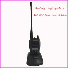 Wholesale Cheap Cb - Wholesale-Original Baofeng cheap portable radio station radio scanner for CB mobile radio walkie talkie comunicador transmissor fm UV-b6