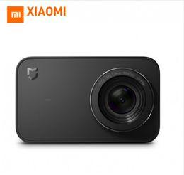 Wholesale Action Shot Waterproof - Xiaomi camare Mini Sport Action Camera 4K Video Recording 4k wifi digital cameras 145 Wide Anglen App Control 2.4 Inch Touch Screen