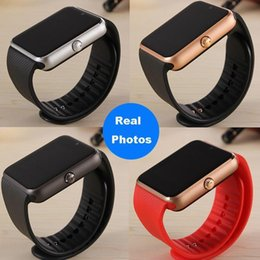 Wholesale Push Selling - GT08 smart watch 2017 Hot Sell Smartwatch Bluetooth Hight Quality Wearable Smart Watches with Camera for Smart phone
