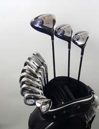 Wholesale golf clubs full sets - Full Set Mens Golf Clubs XXIO MP900 Woods Set + Irons Set Real Pics