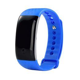 Wholesale Battery Oxygen - Bluetooth S9 Smart Bracelet Smartband Heart Rate Monitor Blood Oxygen Monitor Smart Band Wristband Fitness Tracker Battery capacity: 110mA