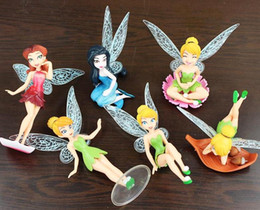 Wholesale Tinker Bell Sale - Hot sale High Quality PVC 6 pcs Tinkerbell Fairy Adorable Figures Toys Doll NEW and retail Tinker bell