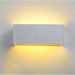 Wholesale 5w Led Lighting Fixtures - Modern led wall lights 5w 7w 12w wall sconces light fixture for livingroom bedroom decoration sconce lights
