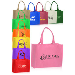 Wholesale Vegetable Prints - customized 80g non woven shopping bag 30*40*10CM own logo printing with cheapest price