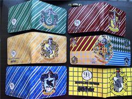 Wholesale Magic Purses - New High Quality Harry Potter Womens Wallets And Purses Short Leather Men Anime Magic Wallets Cards Zipper Coins bolsas feminina