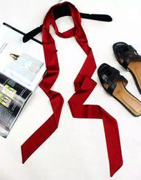 Wholesale Necktie Extra Long - Extra Long Size 245x5cm 100% Silk Twilly Ribbon, 2016 Popular Silk Scarf Necktie Belts ,Accessory