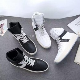 Wholesale Women Military Boots - Fear of God Fog Winter Boots 750 Boost Men Women Winter Shoes fear of god High shoe FOG black white military boots Original Box BY DHL 40-46