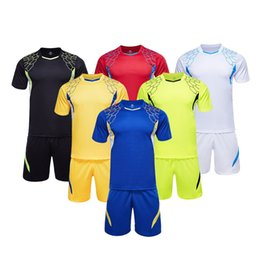 Wholesale Football Shirt Logos - ZD1602 soccer traning set wholesale uniforms! soccer sets customized your team logos, soccer sets,football shirts, free DHL shipping