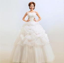 Cheap Tube Ball Gown Wedding Dresses - Free Shipping Tube Ball ...