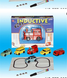 Wholesale Mini Trucks Toys - Mini Magic Pen Inductive Fangle Vechicle Toy Children's Car Truck Tank Car Toy Factory Direct Large Stock