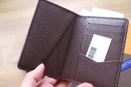 Wholesale Christmas Star Design - Free Shipping! Fashion Design Casual Credit Card ID Holder Hiqh Quality Leather Wallet 63144