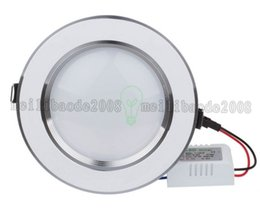 Wholesale Led Spots Bathroom 3w - NEW Dimmable LED Ceiling Light 3W 5W 7W 9W 12W Warm White Cold White Recessed LED Lamp Spot Light AC220V AC110V MYY