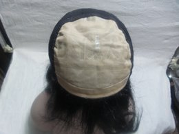 Perucas cheias do cabelo humano do couro cabeludo on-line-Cabelo chinês 100% Full Lace Wigs Hair Lsimulation Do Couro Cabeludo Cor # 1 Full Lace Perucas de Cabelo Humano Peruca De Seda Sênior 5.5 * 5.5 Kabell perucas