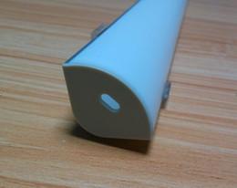Livraison Gratuite Haute Qualité 2000mmx30mmx30mm Date haut de gamme led profilé en aluminium extrusion- led led bande profil suspendu léger ? partir de fabricateur