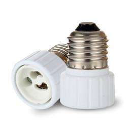Wholesale E27 Sockets - Fedex FREE shipping ES to GU10 adaptor LED Light Adapter E27 to GU10 adaptor holder adapter GU10 to E27 converter socket E27-GU10 GU10-E27
