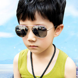 Wholesale kids acrylic mirrors - Kids Sunglass Children Beach Supplies Sunglasses Childrens Fashion Accessories Sunscreen baby for boys Girls awning kids Glasses