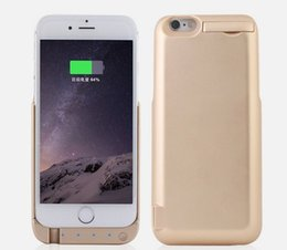 Wholesale Iphone Flip Case Power - 2016 Hot Power bank battery charger case backup battery flip case for iphone 5 iPhone 6 6s case battery