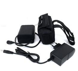 Wholesale Lithium Bike Battery Packs - Super Waterproof Battery Pack Li-ion Rechargeable 9000mAh Storage Batteria 8.4 v 6x18650 Battery for Headlight Bike Lamp+Charger