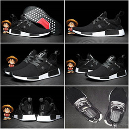 Wholesale Canvas Shoes Black Colour - 10 Colours 2017 new ew mastermind Japan x NMD XR1 Sneakers black Women Men Youth Running Shoes Sports fashion boost
