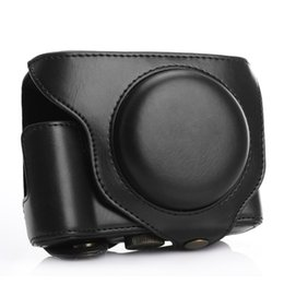 Wholesale Dslr Leather - TARION PU Leather Camera DSLR Protective Case Bag Cover for Fujifilm Fuji X70 Coffee