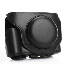 Tapa de la caja protectora de la cámara de cuero TARION PU DSLR para Fujifilm Fuji X70 Coffee desde fabricantes