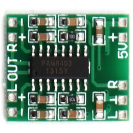 5v verstärker online-Kanäle 3W Digital Power PAM8403 Klasse D Audio Modul Verstärkerplatine USB DC 5V Mini Klasse D Digital Verstärkerplatine LCD
