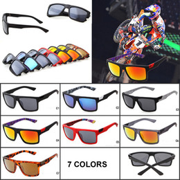 Wholesale Fox Style - 2016 Summer Fashion Fox Designer Sunglasses Outdoor MotoGP Cycling Eyewear Outdoor Sports Sun Glasses Square Shape Cycling Style Men Goggles