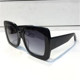 Wholesale Large Cat Eye Sunglasses - Sunglasses Large Round Frame Sparking Summer Popular Sunglasses Hot Brand Women Desiger With Big Logo Popular Glasses rytry8797