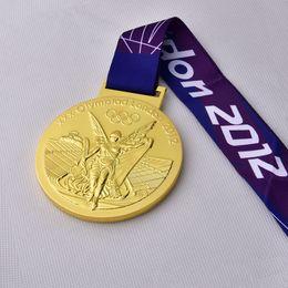 Medaglia dei 2012 giochi olimpici di Londra ORO con le cinghie Medaglie di alta qualità per la raccolta DHL libera il trasporto da