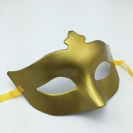 Wholesale Dance Costume For Children Wholesale - Party Mask Half Face Woman Masks gold silver Carnival masquerade Mask Halloween Costume Novelty Gift Wedding dance mask free shipping