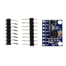 Wholesale Axis Gyroscope Arduino - Wholesale-NEW 3-Axes Accelerometer Gyroscope Module For Arduino MPU 6050 new arrival